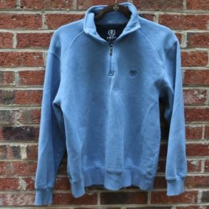 Izod  3/4 Zip Cotton Pullover/ Men's Small